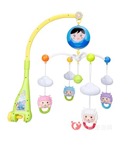 0岁宝宝玩具如何正确选购 贝恩施手摇铃带给宝宝舒适安宁