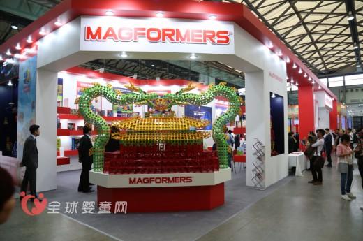 有思想的创意玩具 MAGFORMERS麦格弗正式进军中国市场