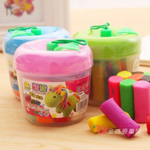 彩泥产品有6成不合格引起孩子家长的担忧