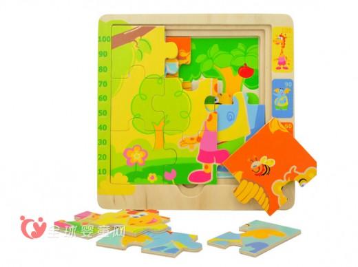 特宝儿拼图玩具 促进孩子智力发展