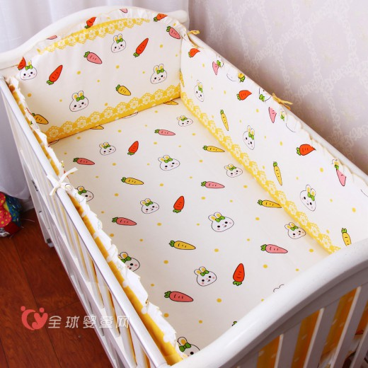 优伴纯棉婴儿床品新款上市 你要的四件套在这里