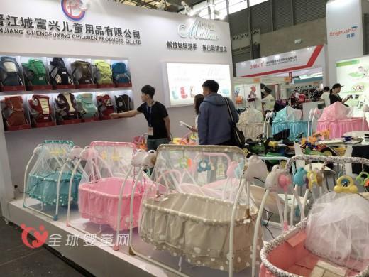 晋江城富兴儿童用品有限公司在2016中国婴童展大放异彩