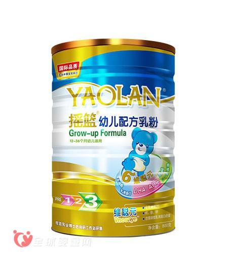 搖籃嬰幼兒配方乳粉  讓孩子營養充沛更健康