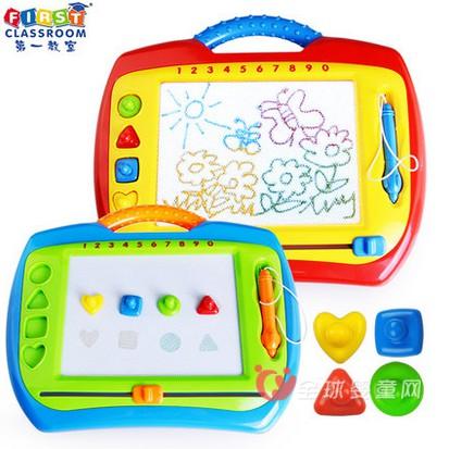 第一教室彩色磁性绘画板    给孩子一片随意创作的空间