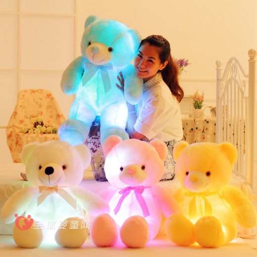诺言发光音乐毛绒玩具 给孩子一个欢乐的童年