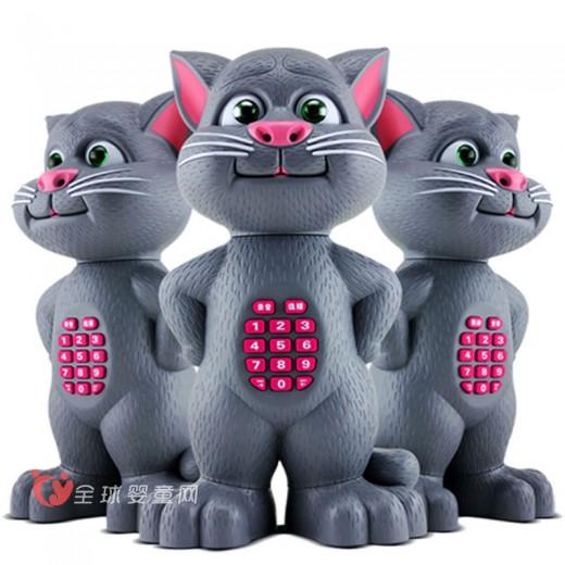 会说话的智能汤姆公仔猫 猫贝乐让宝宝开心乐不停