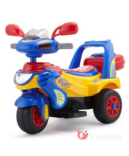 智乐堡儿童电动三轮车  幼儿电动三轮童车