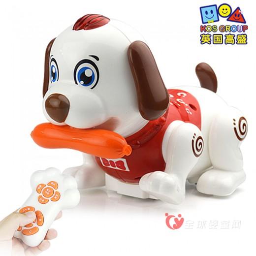 高盛电动玩具狗 一款益智的早教玩具