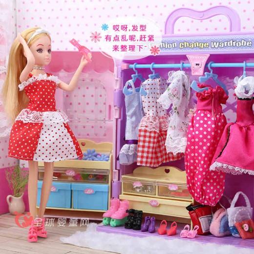 芭比娃娃玩具套装怎么样 Toys/乐吉儿梦境衣橱好玩吗