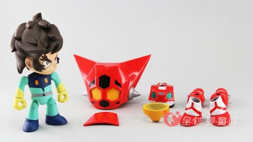 Q-suit 三一万能侠流龙马x 盖塔1号换装玩具前瞻