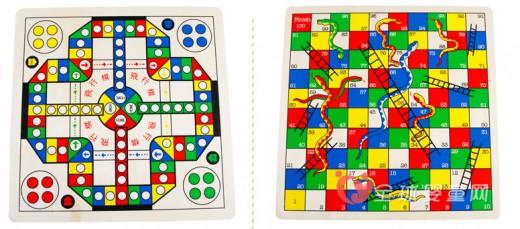 巧之木飞行棋蛇棋:寓教于乐  让宝宝快乐的学习