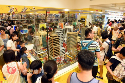 乐高线下专卖店Lego Store进军香港 首家玩具店开业