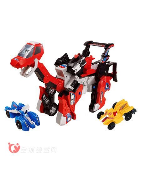 伟易达变形恐龙玩具   好玩的变形恐龙