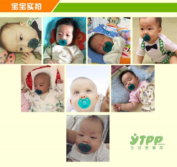 明星宝宝都在用的Soothie安睡型奶嘴 缓解宝宝吃手 哭闹