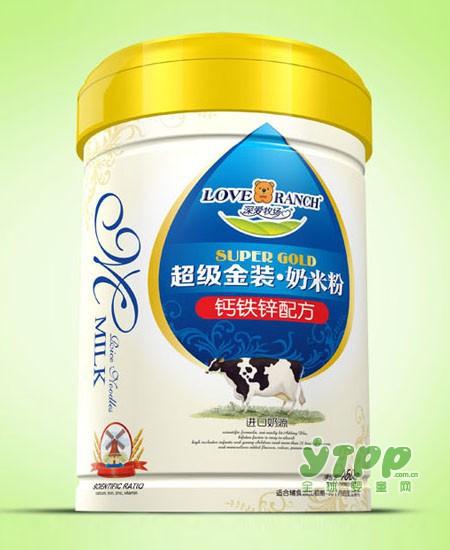 深爱牧场金装奶米粉  专注中国婴幼儿健康成长