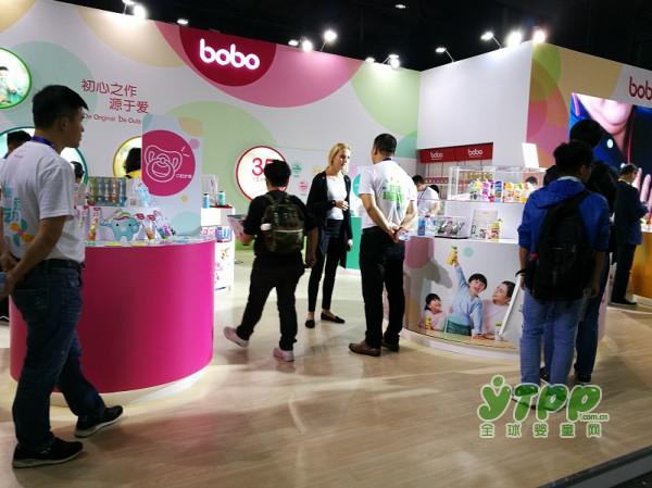 2017CKE中国婴童展:新文越市场营销总监栾晓霞接受了全球婴童网记者的采访