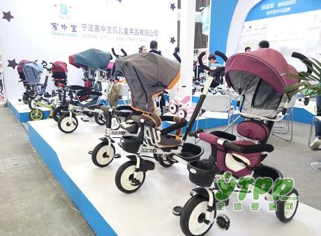 家中宝儿童用品参加2017中国玩具展订单不断 收获满满
