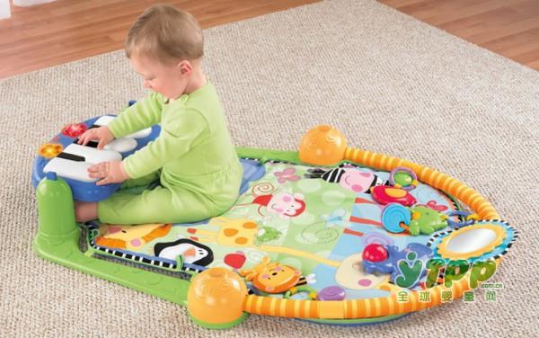 兼具早教与锻炼的多功能健身架  全面锻炼宝宝的运动能力和感官发育