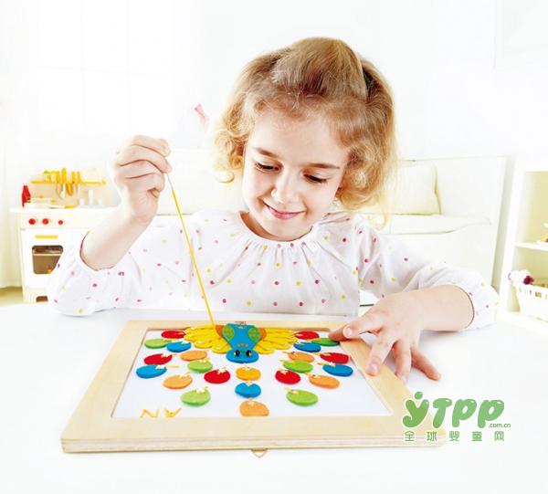 hape儿童趣味DIY贴画    培养宝宝的审美情趣