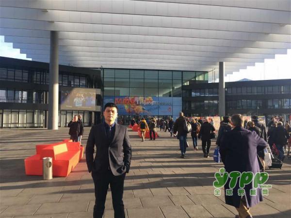 安德鲁尼亮相第64届德国纽伦堡玩具展