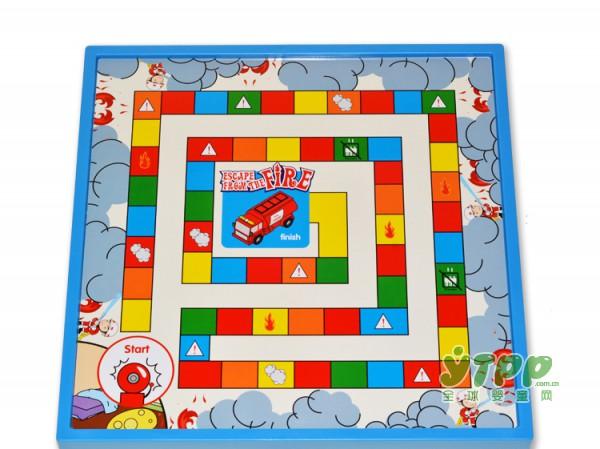 第一教室桌面教育游戏玩具 呈现一场跌宕起伏的逃生之旅