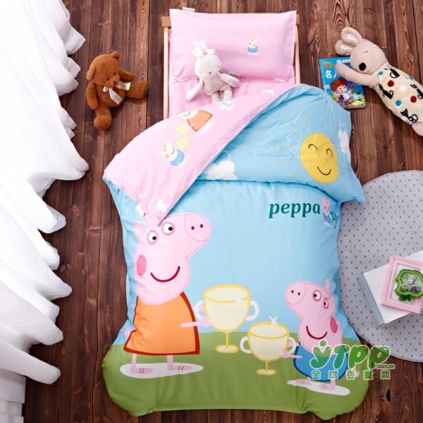 柏瑞莎儿童床品套件新款上市 全棉舒适呵护孩子健康睡眠