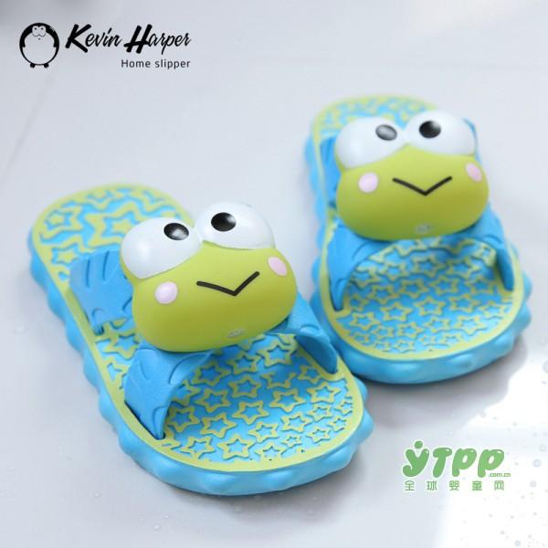 大眼蛙儿童拖鞋 可爱到爆 想买的冲动有没有