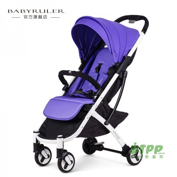 babyruler超轻便婴儿推车 可坐可躺可带上飞机的推车