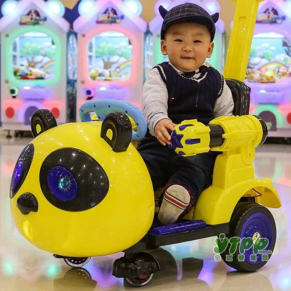 笑娃娃多功能儿童电动车新款上市 让孩子欢乐享不停