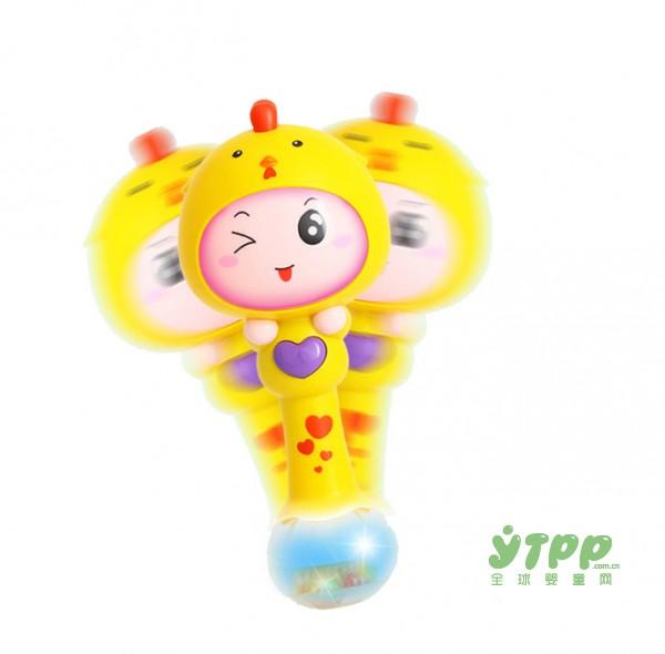 如何拥有一个充满节奏感的童年  汇乐婴幼儿手摇铃宝宝的好伙伴