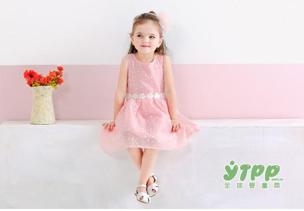 Jellybaby 女童装粉色公主裙搭配推荐  打扮你的漂亮小天使