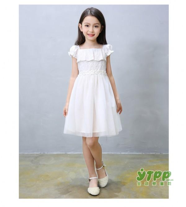 儿童夏装唯美公主裙  宝贝一见倾心漂亮甜美的公主裙