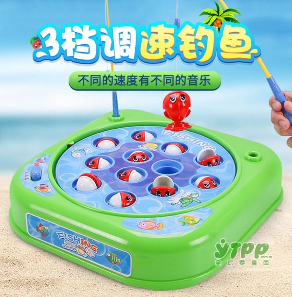 谷雨宝宝调速童钓鱼玩具套装  亲子互动游戏 锻炼宝宝的活动能力