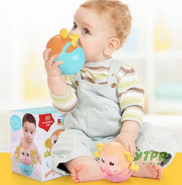可啃咬の不倒翁 满足3-6个月宝宝喜欢啃咬玩具的喜好