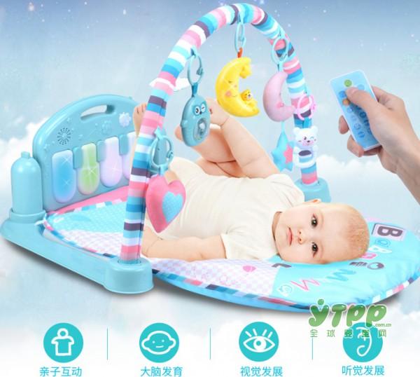雨儿健身架 一款专为0-36个月宝宝量身设计的益智健身架
