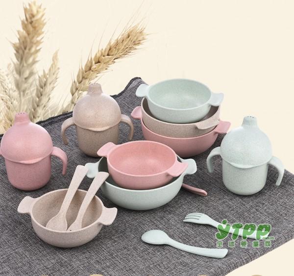 贝能麦纤维儿童餐具  可吃的材料让宝贝每口妈妈都安心