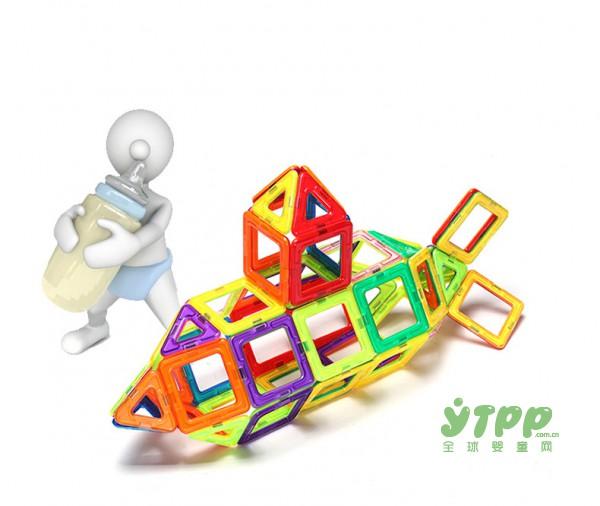 乐乐鱼磁力片积木  宝宝成长中的好伴侣