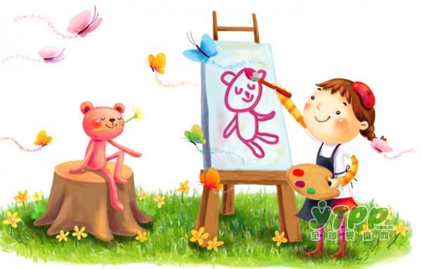 不要小看画画对孩子成长的好处