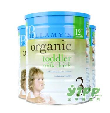 贝拉米婴幼儿有机配方牛奶粉  引导宝宝养成健康的饮食习惯