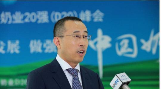 蒙牛CEO盧敏放:做強嬰幼兒奶粉 振興中國奶業