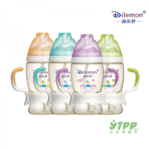迪樂夢嬰兒ppsu寬口防脹氣奶瓶   讓寶寶喝奶更輕松