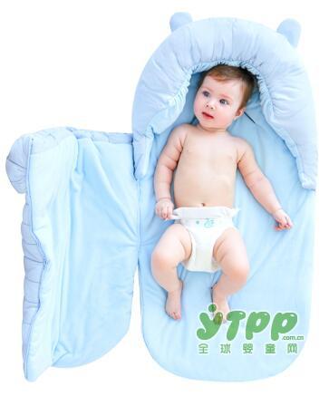 贝贝艾新生儿抱被纯棉睡袋防踢被  仿生睡袋•守护宝宝安然入睡