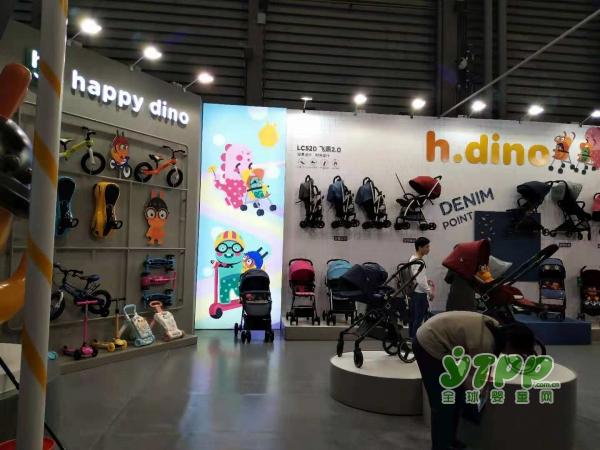小龙哈彼Happydino多功能婴儿车重磅亮相CTE中国玩具展
