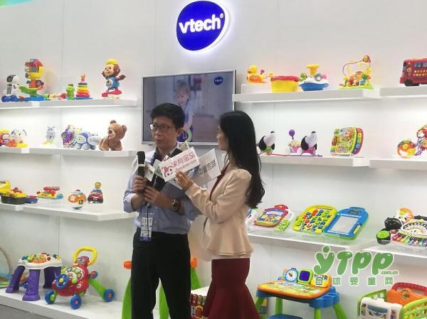 伟易达玩具品牌的副总经理张宁接受了全球婴童网记者的采访