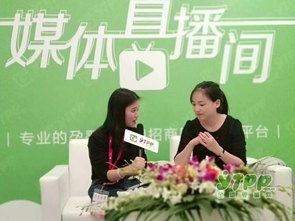 感谢上海贝杰妇婴用品有限公司的Kiki接受全球婴童网记者的采访