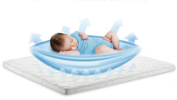 喜临门黄麻儿童席梦思护脊床垫   科技助眠•定制宝宝的睡眠