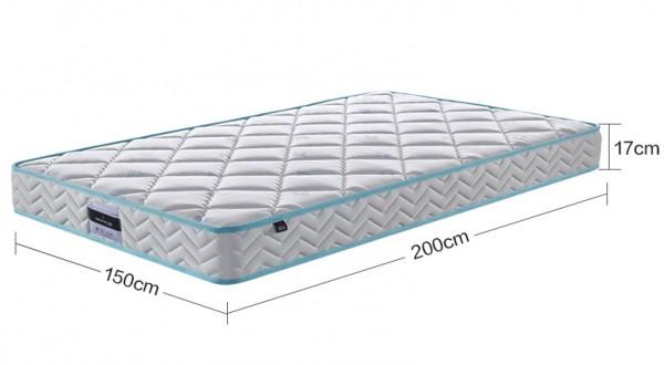 慕思儿童弹簧护脊乳胶床垫   负离子+高纯度乳胶营造好睡眠