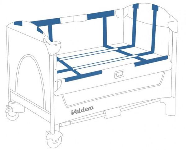 valdera便携式可折叠婴儿床  集多功能于一体陪伴成长