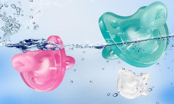 意大利chicco智高全硅胶婴儿安抚奶嘴 帮助宝宝告别焦躁和哭闹