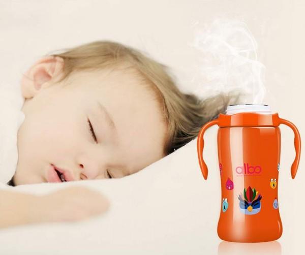 爱乐宝婴儿不锈钢保温奶瓶 夜奶救星 拯救宝妈睡眠